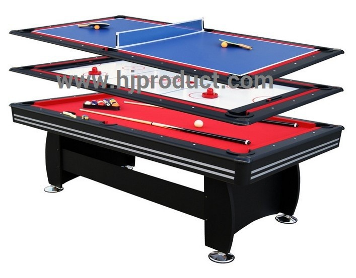 Best Christmas Gift Promotion Small Size Indoor Kidu0027s 4 In 1 Multi Game  Table Billiard Hockey