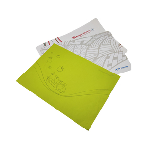 Airline hot sale tray mat paper with double non slip