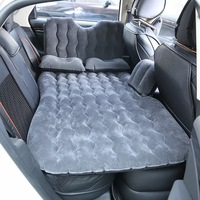 Car Air Filled SUV Seat Sleep Inflatable Air Bed Travel Outdoor Camping Car Air Mattress