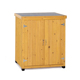 Small outdoor storage sheds wood garden storage cabinet