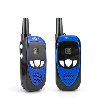 portable outdoor camping equipment kids mini two way radio phone small walkie talkie