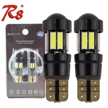 High Power T10 LED Auto Beleuchtung lampe 7020 Chips 10SMD 220LM Auto led signal lichter