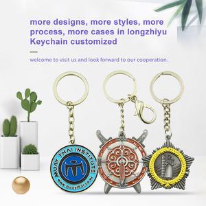 Longzhiyu12years manufacturer custom bee keychain black panther keychain  blank stainless steel keychain made in china