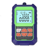 Ftth High Precision Handheld mini Fiber Optical Power Meter -70+3 dBm Fiber Optical Cable Tester