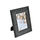 Cheapest China factory production black high quality wooden picture photo frame