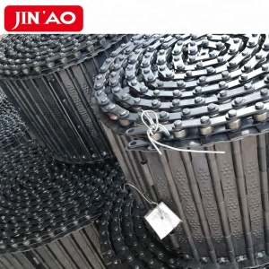 CNC Steel Scraps Conveyor Hinged Belt Chip Conveyor Belts