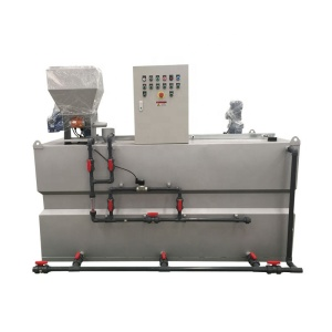 Chlorine Acid Polymer Chemical Powder Automatic Dosing System For water treatment