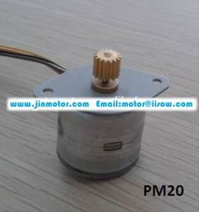 PM20L-020 micro pm stepper motor 20mm pm motor