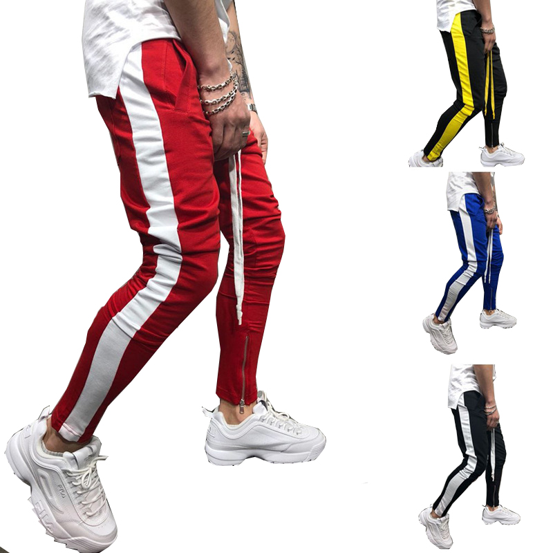 2019 mode großhandel custom track jogging hosen slim fit gym mens jogger hosen jogginghose