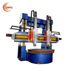 Video Technical Support Metal Spinning Machine Lathe Vertical C5250 Double Column Metal Spinning Vertical Lathe Machine