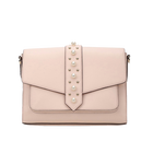 Buying Agent Competitive Price Fancy PU Leather Nude Shoulder Hand Bag With Zipper Purse