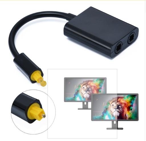 63f1ec090f3 De alta calidad Mini Cable de Audio USB Toslink digitales de Audio por  fibra óptica 1