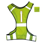 LED Lights Reflective Safety Vest For Night Running Safety Warning