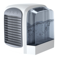 2020 New Design Desktop Portable USB Water Cooler Mini Air Conditioner Fan With Light