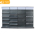 Factory direct single-side stand adjustable supermarket wire display wall shelf