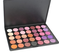 35 Color Eyeshadow Warm Color Smoky Makeup Palette Professional Eyeshadow Make Up Kit Set