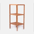 2019 Water Closet 3 Tier 100% Bamboo Bathroom Toilet Shelf Rack Stand Wholesale Prices