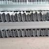 Durable metal crash barrier guardrail spacer galvanized traffic guard rails for highway