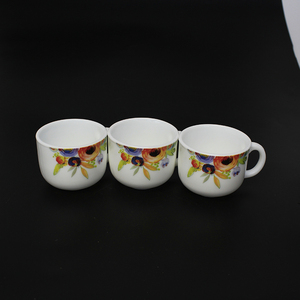 factory produce promotional tea cup sets enamel mug