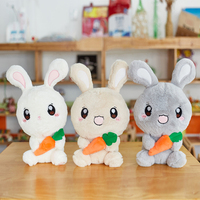 AIXINI 50cm 80cm Stuffed plush bunny toys dolls/ plush rabbit for christmas plush toys