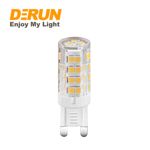 China Manufacturer Good Price Dimmable g9 led lampe 3W 3W 4W 6W LED Corn g9 led light bulb 500lm , LED-G9