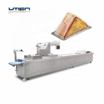 Bakery bread Sandwich  vacuum packing MAP machine