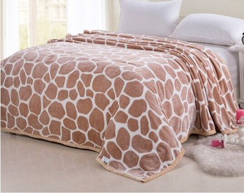 100% polyester low price Soft Flannel Fleece Blanket