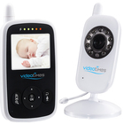 Videotimes 2.4 Inch wireless video monitoring camera smart baby monitor