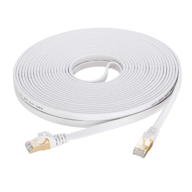 Cat7 Ethernet Cable 5 Pack RJ45 Pure Copper Variety Colors And Sizes