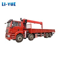 2018 Dongfeng T07 Cab 20 Ton heavy duty Boom Truck Crane for Sale