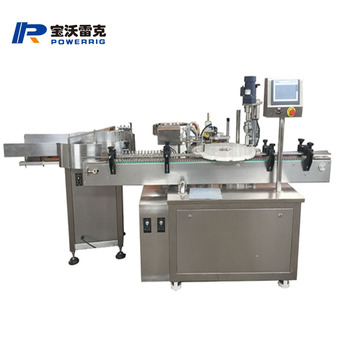 Professional supplier small bottle olive oil and e liiquid filling and capping machine essential oil filling and capper