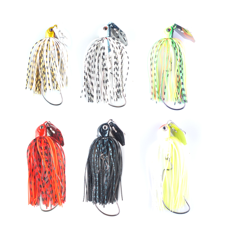 10 JIG SPINNERS SIZE 00 NICKEL CHROME FISHING LURE SPINNER COLORADO BLADE