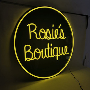 Outdoor advertising neon logo sign custom business led neon signs