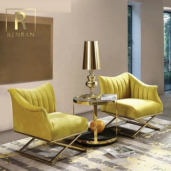 Dubai Latest Leisure Lounge Modern Couch Yellow Velvet Fancy Single Sofa Accent Chair For Living Room Home Furniture Buy Leisure Chair Sofa Decorative Accent Chairs Single Seater Sofa Chairs Product On Alibaba Com