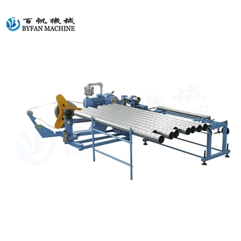 BYFAN BFL-1600  steel spiral air duct making machine