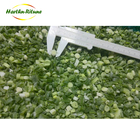 Spring onion frozen IQF vegetable typical green size of 3-10 mm