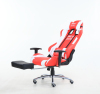 VISKY modern high quality leather adjust PC office computer racing gaming chair with footrest