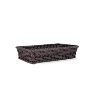 Direct Factory Supermarket Display Wicker Storage Basket For Fruits And Vegetables Storage