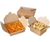 custom hot food take away container paper food box