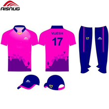 Dye sublimation Angepasst v neck cricket jersey design bilder