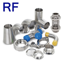 RF Sanitary Stainless Steel Susu Karet Selang <span class=keywords><strong>Pipa</strong></span> <span class=keywords><strong>Fitting</strong></span>