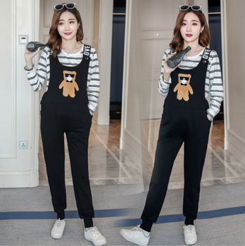 Wholesale new fashion maternity women sweat pants and t shirts clothes suit