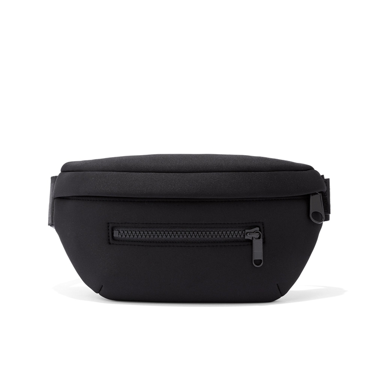 High quality fancy neoprene fanny pack mans women soft waist bum bag