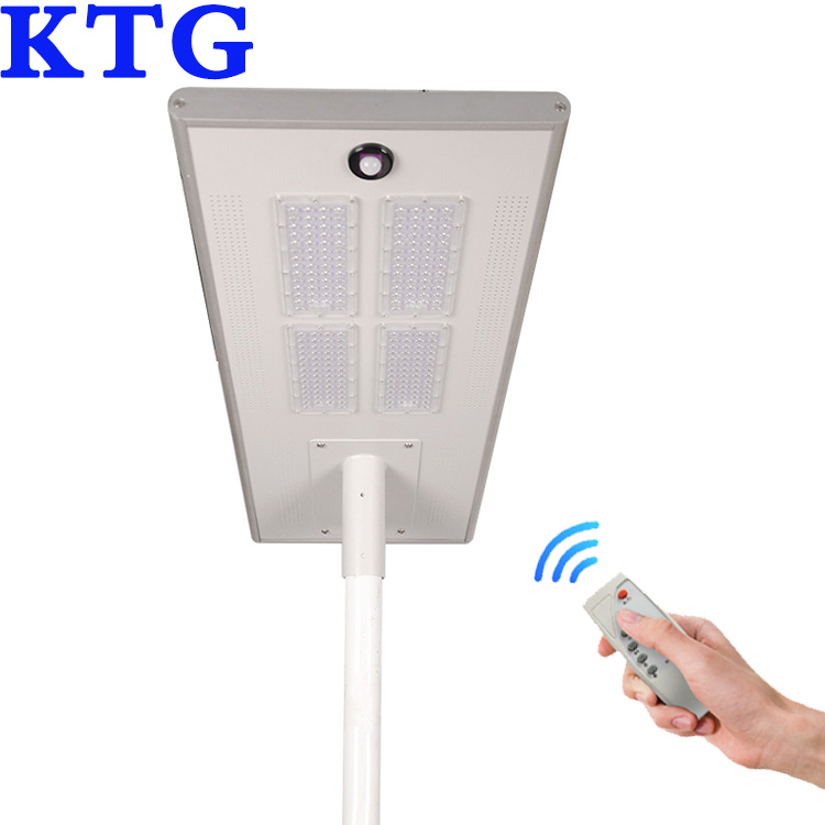 KTG luminaries 40w 50w 60w 80w solar ground lights charge power from luz solar 100w solar street panel