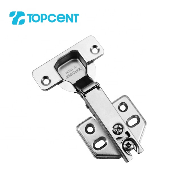 TOPCENT furniture hardware invisible buffer concealed hydraulic cabinet soft closing hinge