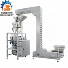 Food Packing Salt Packing Machine Price Dosing By Volumetric Cup Filler Stainless Steel Salt Sugar Rice Granule Food Packing Machine