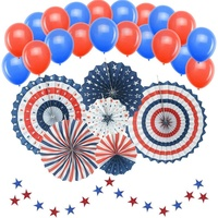 Nicro 50 PCS American Independence Day July 4th Patriotic Nautical Party Decorations Supplies