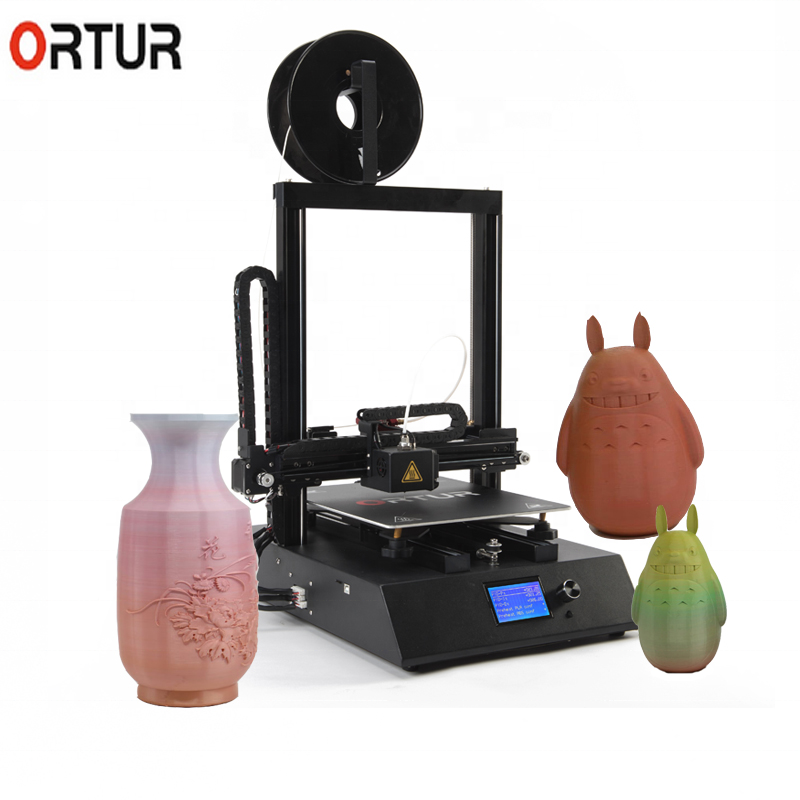 ORTUR Amazing mobile Ortur-4 <strong>V1</strong> 3D printer automatic leveling 3d drucker with features resume printing coffee 3d printer