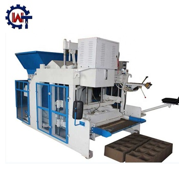 fly ash bricks manufacturing plant cost WT10-15 egg laying concrete cement block making machine in lagos