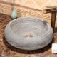China curved porcelain restore ancient ways artistic ceramic wash basin bathroom sink